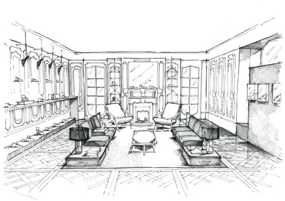 Illustration Dc Louis Leeman Sketch View 1
